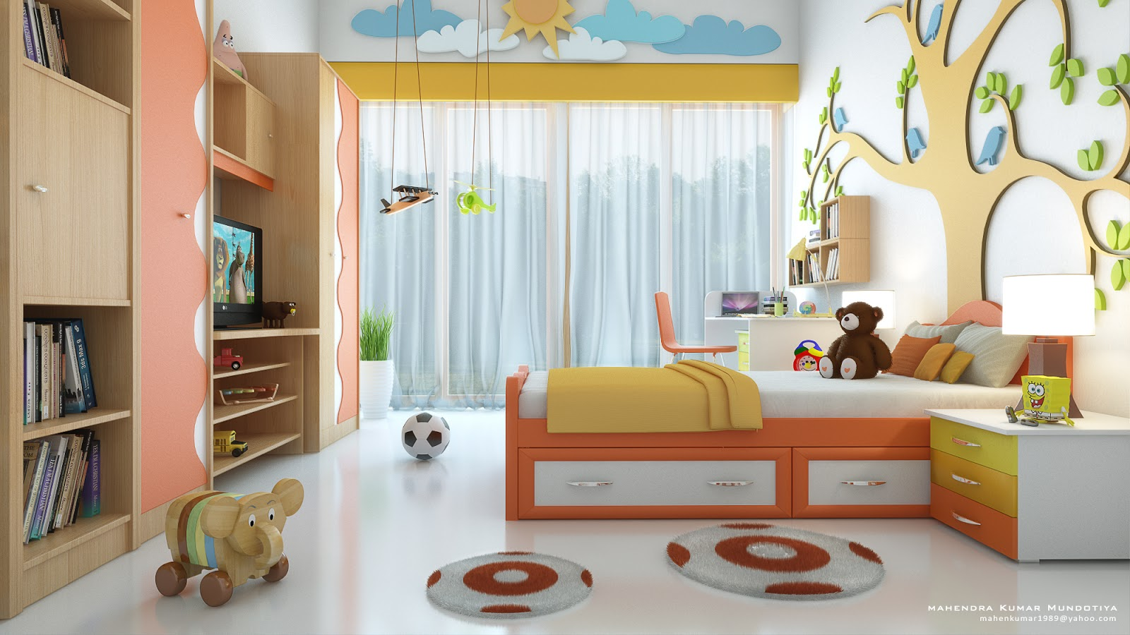 kid bedroom ideas setting up and customizing kid s room yonohomedesign 11929