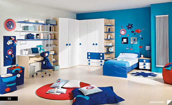 kids room furniture maker: columbini AFIYCDM