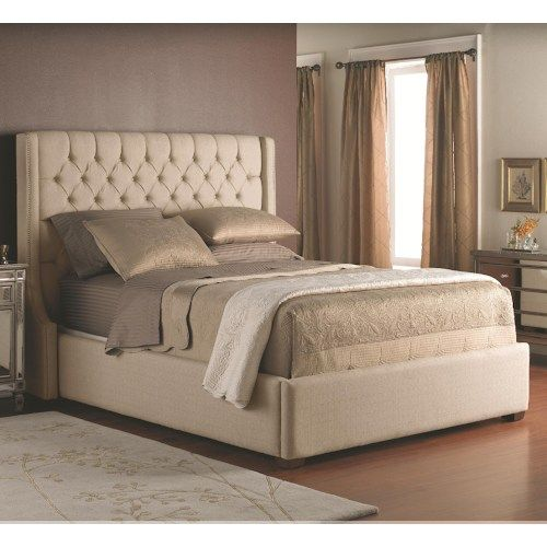 king size headboard decor-rest beds - king size upholstered headboard with button tufts and base QSFQETX