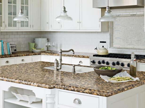 kitchen countertops kitchen countertop ideas u0026 pictures | hgtv UFSHRBO