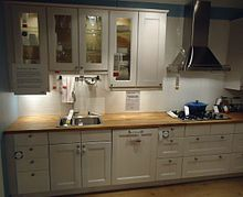kitchen cupboards a design choice is integrating kitchen cabinets with appliances and other  surfaces QUSCOTE
