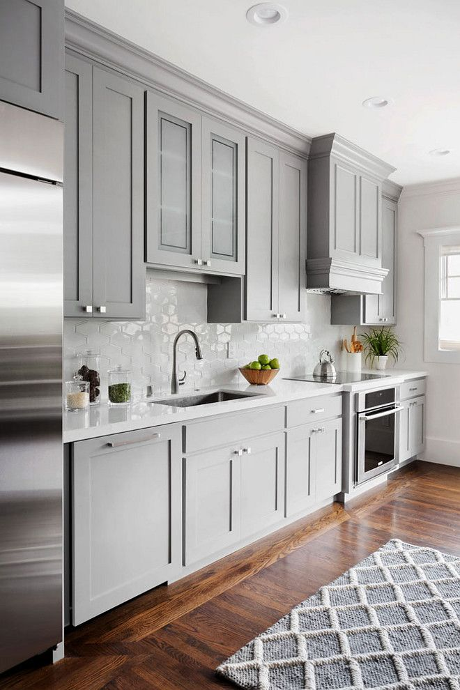 kitchen cupboards benjamin moore 1475 graystone. benjamin moore 1475 graystone. shaker style kitchen  cabinet VLXWXTK