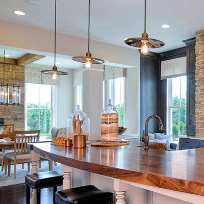 kitchen light fixtures kitchens are the new family room YFQDFWS