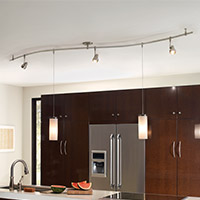 kitchen lights kitchen lighting track u0026 monorail lighting USEOYHX