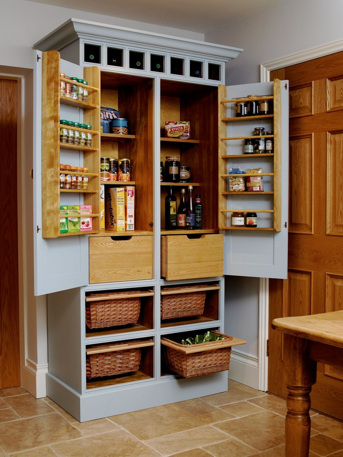 kitchen pantry build a freestanding pantry ARJJXKN