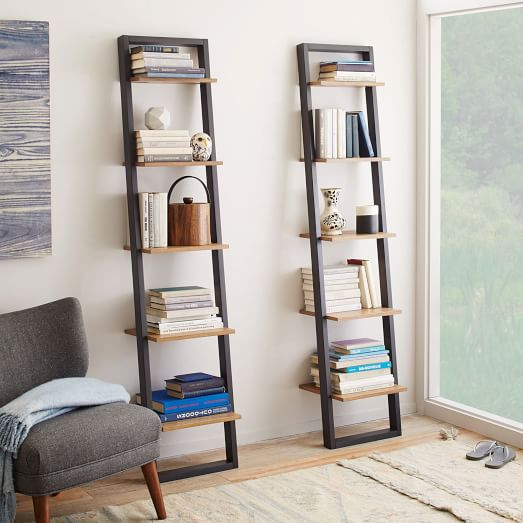 ladder shelves ladder shelving - narrow QTAXMPX