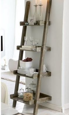 ladder shelves leaning ladder bookshelf NBFMAEK