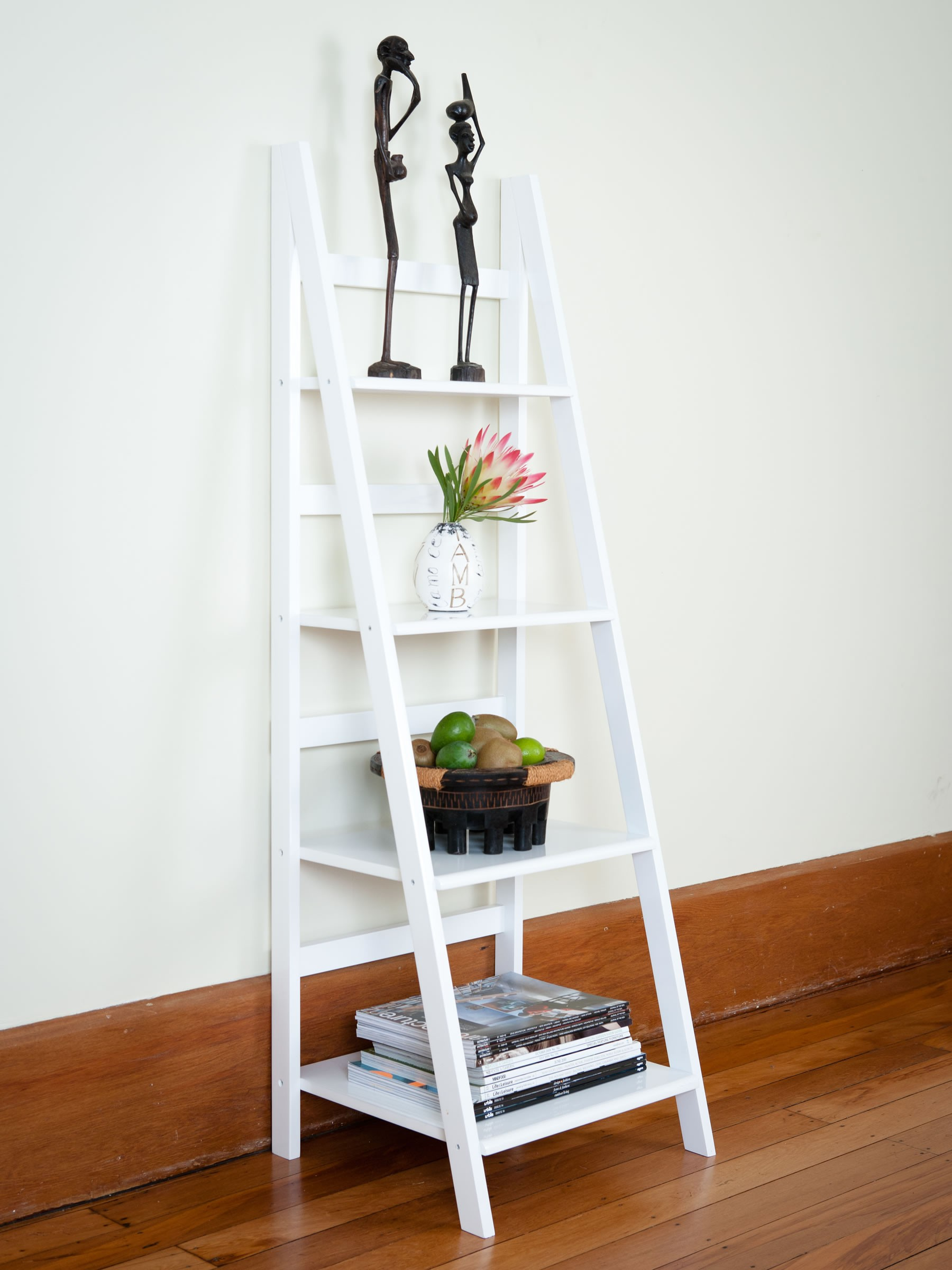 Perfect uses for a ladder shelf