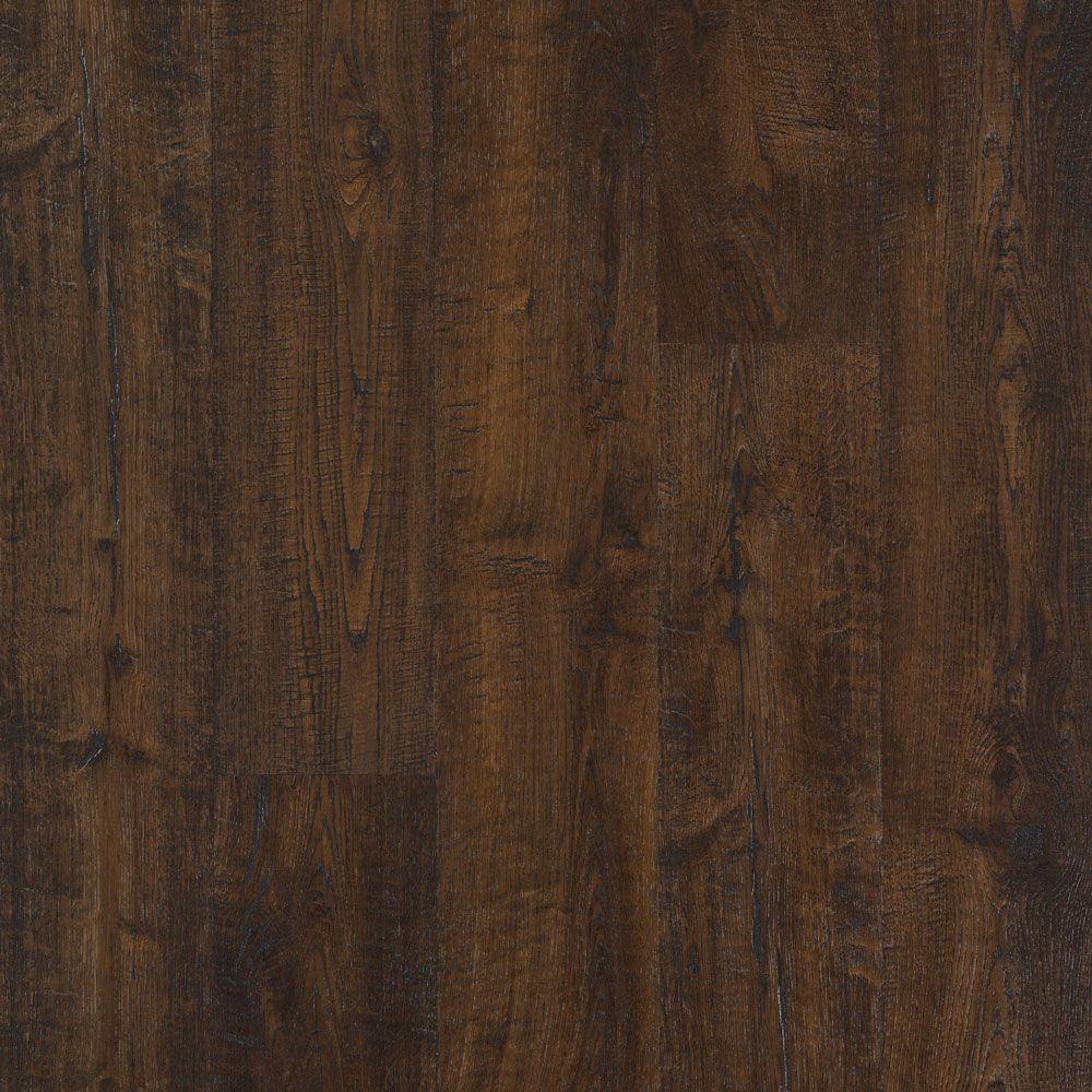 laminate wood flooring outlast+ java scraped oak 10 mm thick x 6-1/8 in. wide BHHAVNL