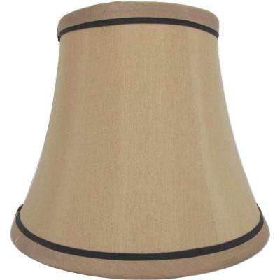 lamp shades mix u0026 match white trim round bell accent shade QTJVFWB