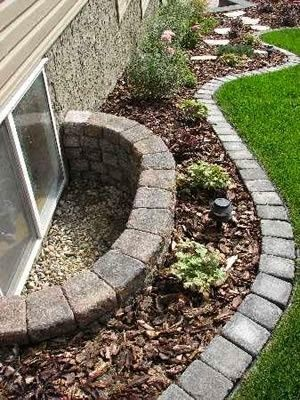 landscaping ideas window well design ideas: creative ways to dress up your window wells CPQDWYP