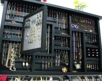 large dorm room jewelry organizer BGBHGPM