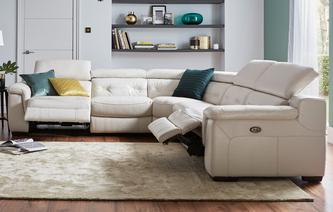 leather corner sofa torino option c 2 corner 2 electric recliner sofa new club iconica MBSQOMQ