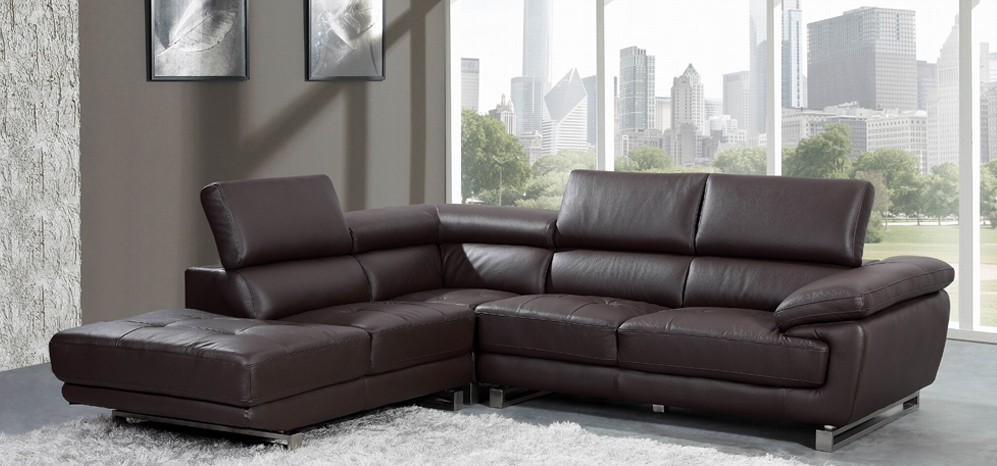 leather corner sofa valencia corner espresso brown h8586lhf SZZEXCP
