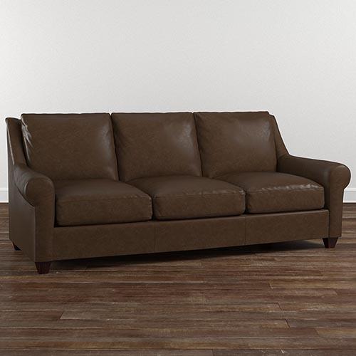 leather furniture american casual ellery sofa RHDGSZQ
