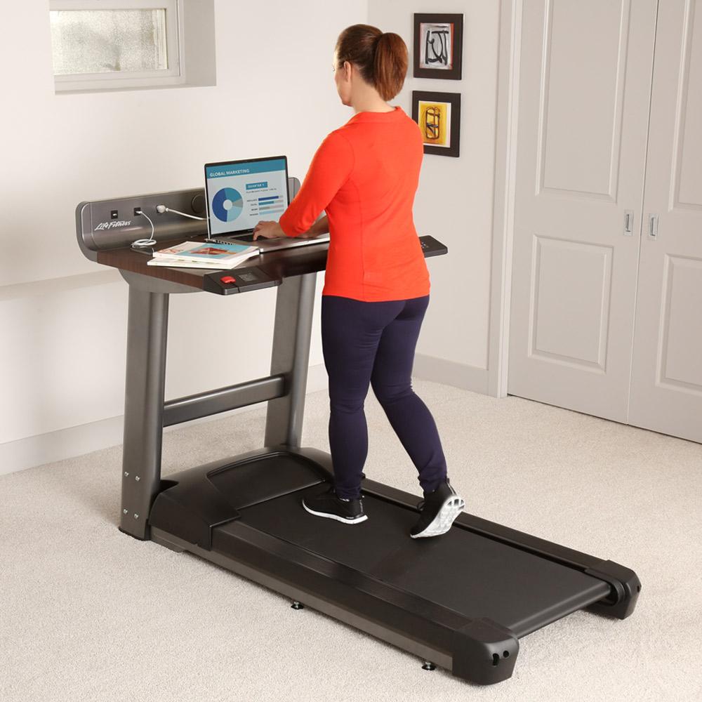 Purpose of treadmill desks