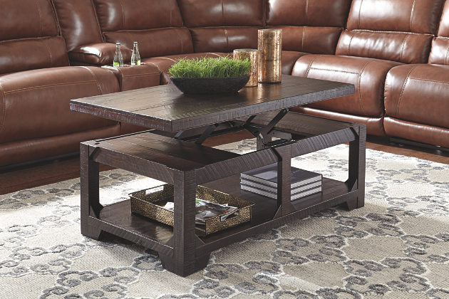 lift top coffee table lift-top coffee tables | ashley furniture homestore HOAZICK