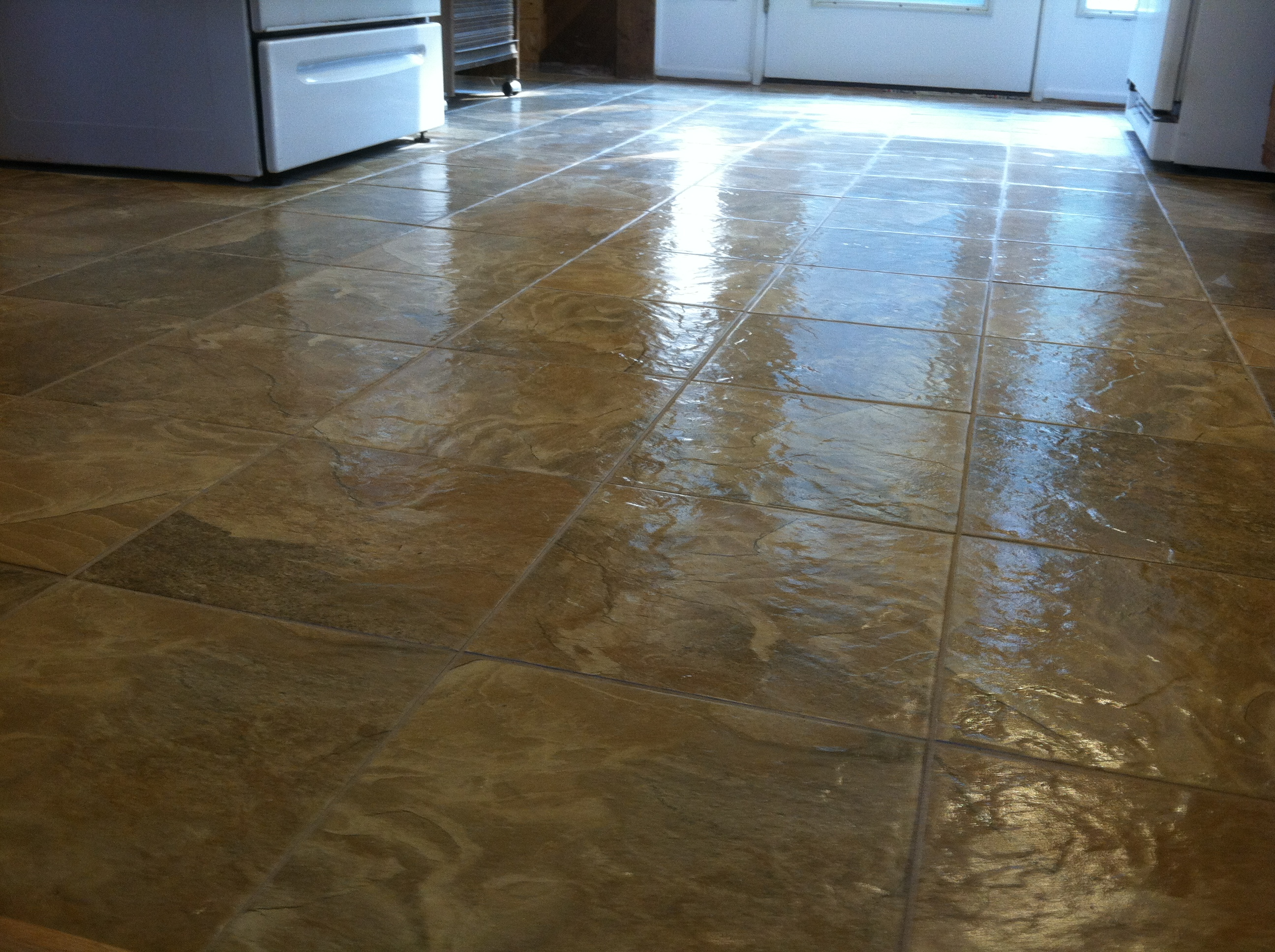 linoleum flooring pros and cons of linoleum floors EKPWJUV