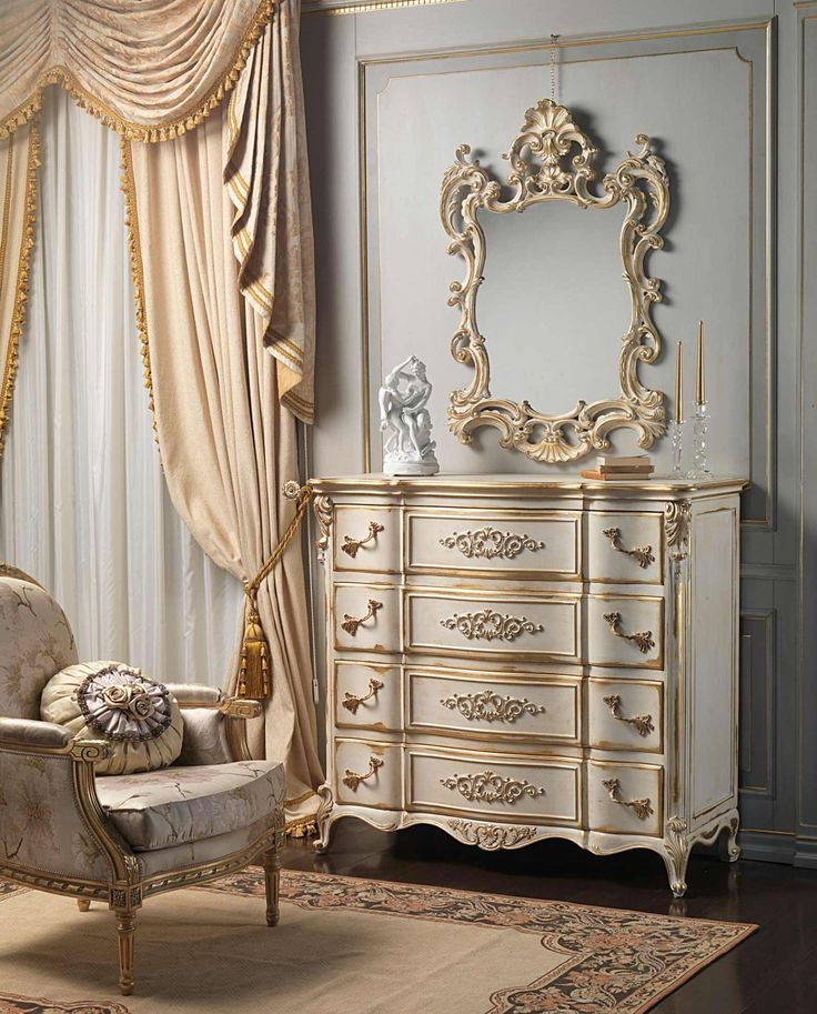 louis xvi white and gold classic bedroom | vimercati classic furniture  handmade LTTRJXD