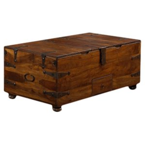 mapleton trunk coffee table RUFLIIC