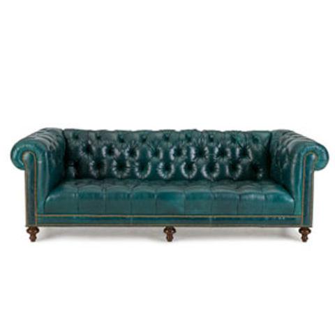 massoud davidson tufted-seat chesterfield sofa PDJXFPC