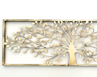 metal wall art, metal wall decor, metal tree wall art, tree decor, EGZAKHI