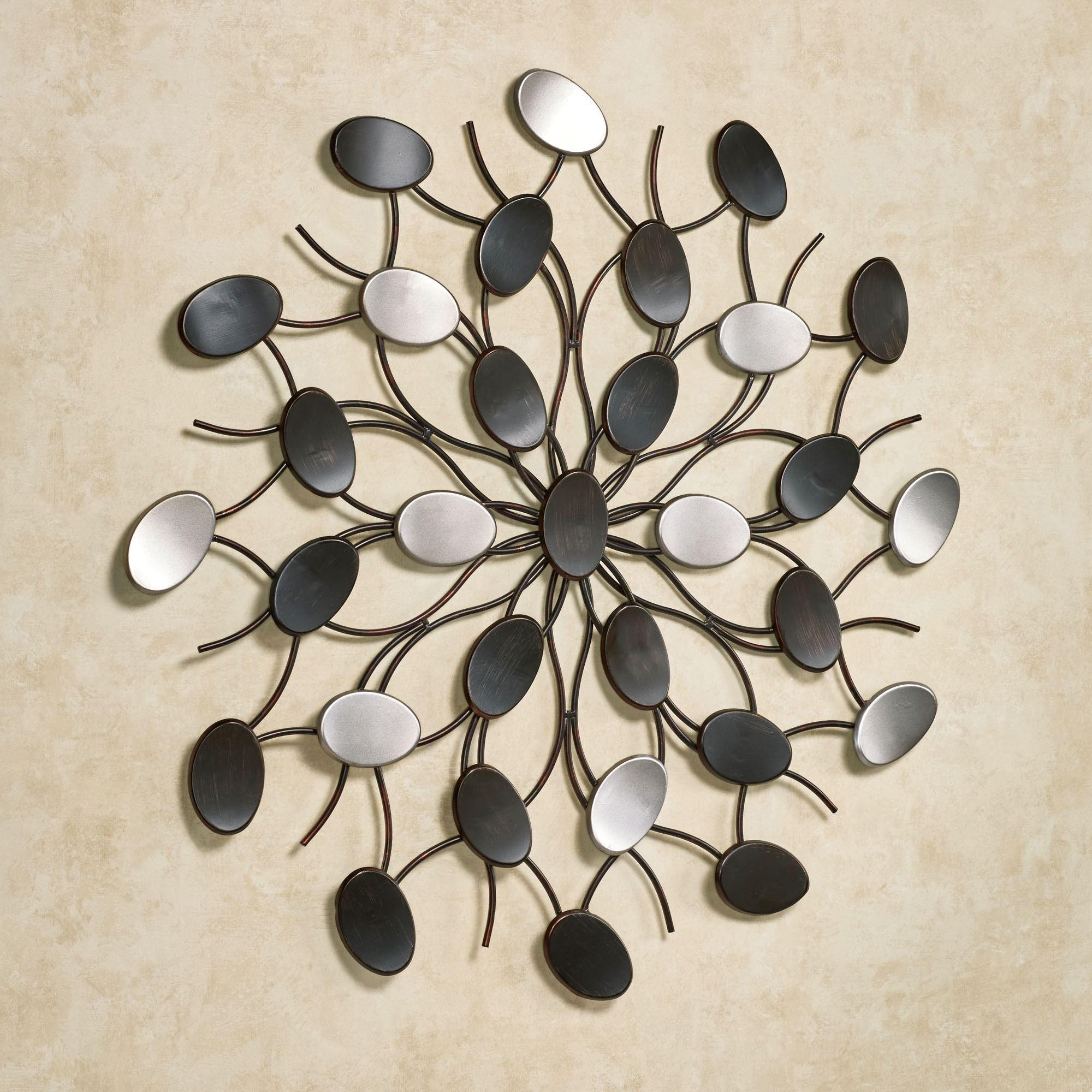 metal wall art radiant petals wall art multi metallic. click to expand DIXJWXN