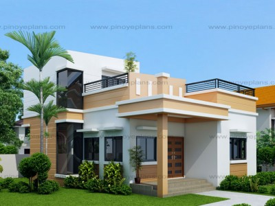modern house design floor plan code: shd-2015025 | 114 sq.m. | 2 beds | 2 baths FFKIBXX