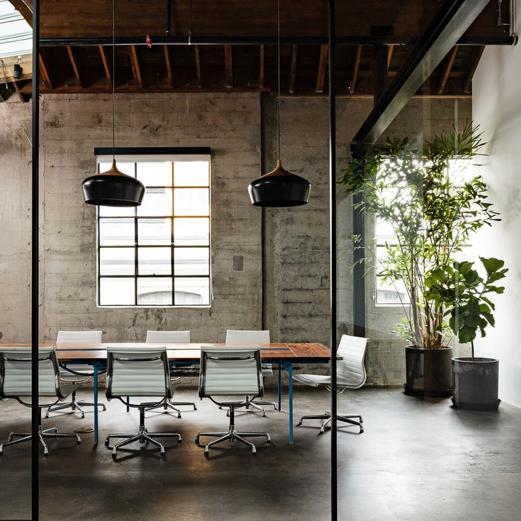 modern office a beautiful office conference space design furnished with eames aluminum  group chairs PTGRDDK