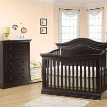 nursery furniture sets espresso nursery sets HXBXRYE