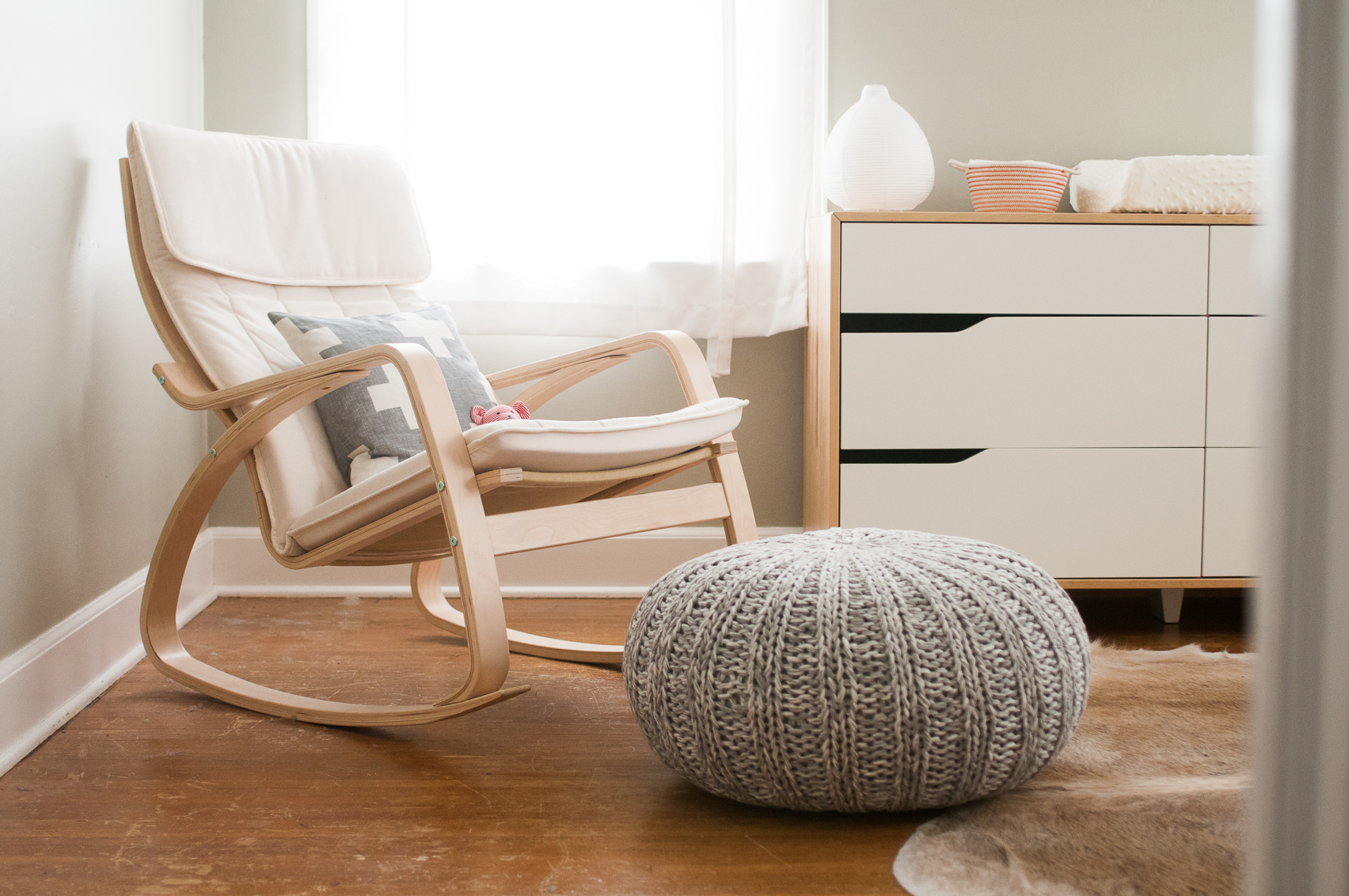 nursery rocking chair ikea poang rocking chair for gray and white nursery NSCGBLR