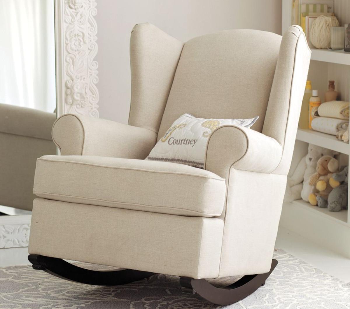 nursery rocking chair upholstered rocking chair for nursery MRMGFUE