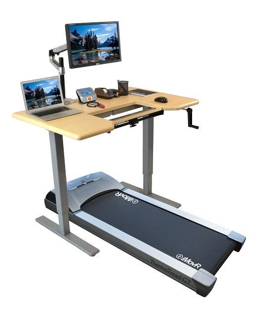 omega denali treadmill desk with thermotread gt office treadmill ULZNMHU