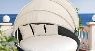 outdoor daybed brayden studio holden canopy outdoor patio daybed with cushions u0026 reviews   YZPQMJR