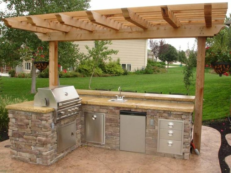 outdoor kitchen ideas best 25+ outdoor kitchen design ideas on pinterest | outdoor kitchens,  backyard RMUAYCZ