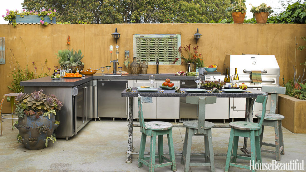 outdoor kitchens 20 outdoor kitchen design ideas and pictures TVJOMSP