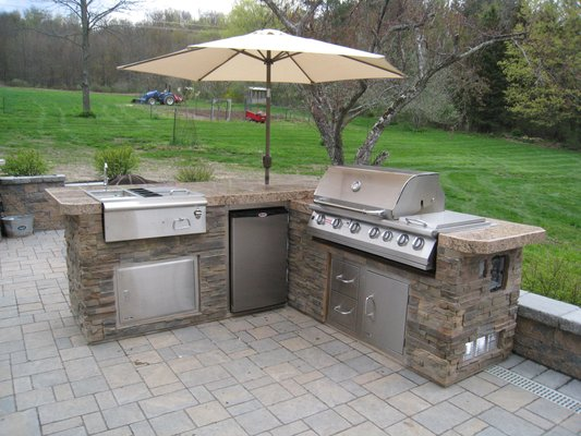 outdoor kitchens i would classify these as kitchens. GTNBZRS