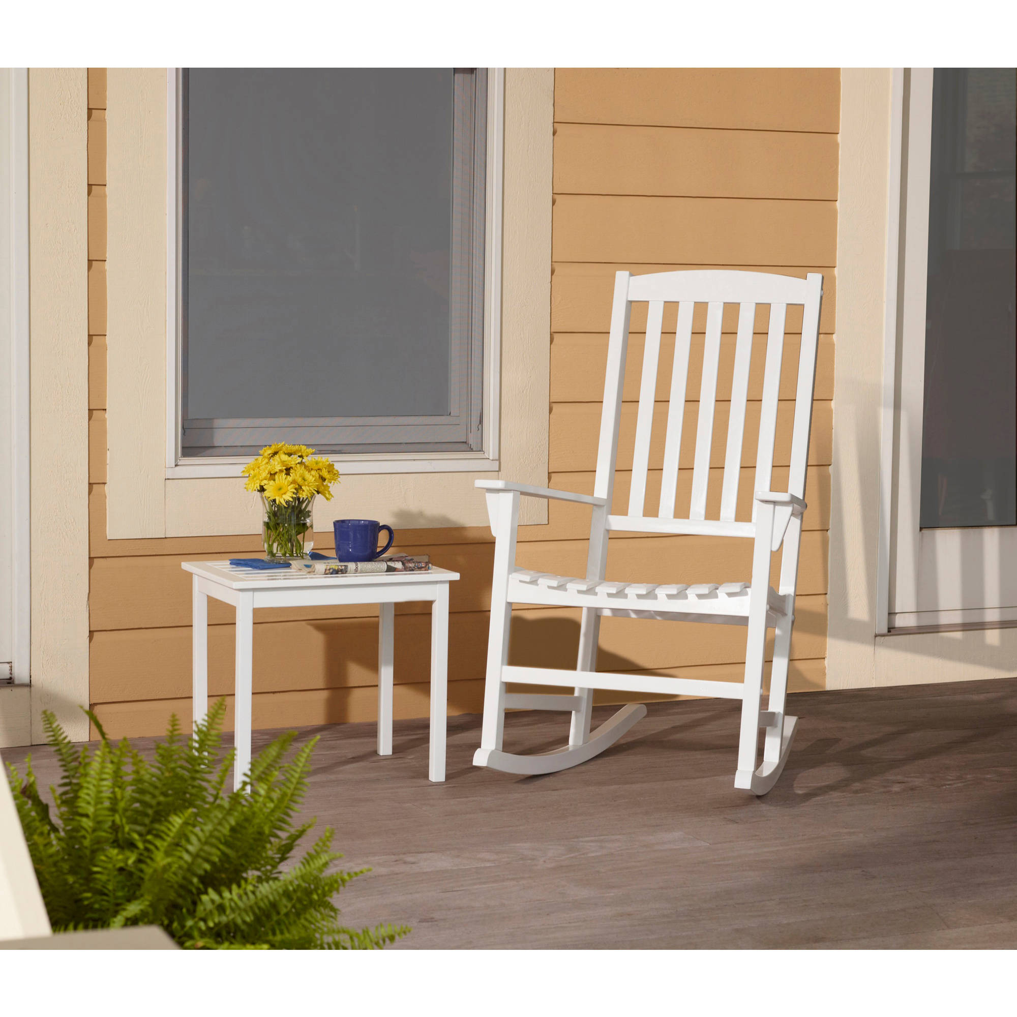 outdoor rocking chairs mainstays outdoor rocking chair, multiple colors - walmart.com FUEFHDS