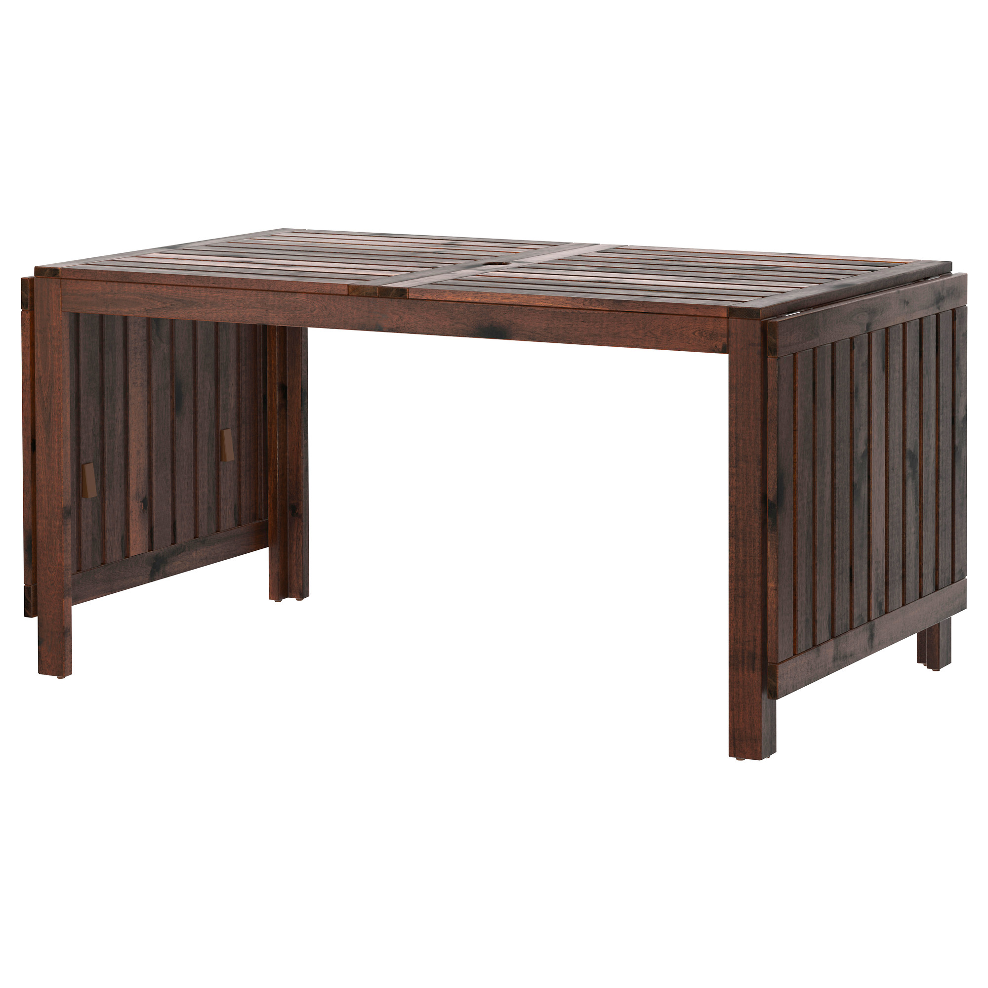 outdoor table äpplarö drop-leaf table, outdoor - ikea FNUEILG