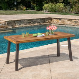 outdoor table patio dining tables LGMEFVY