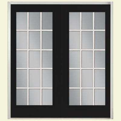 patio doors prehung 15 lite fiberglass patio door ... SPTYREQ