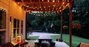 patio lights 26 breathtaking yard and patio string lighting ideas will fascinate you NMHKPVP