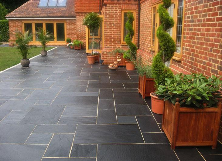 Patio slabs, advisable or not?