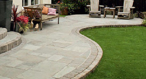 patio slabs garden paving NEJBSGB