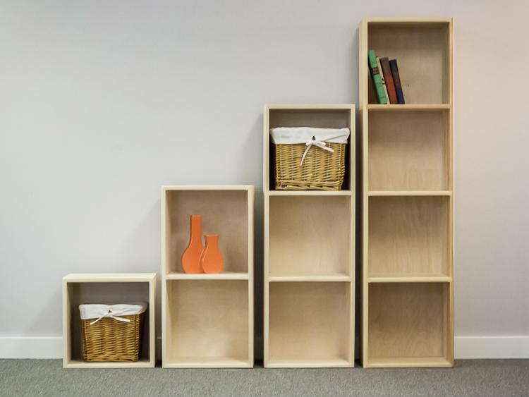 pine storage cubes DWVOHEL