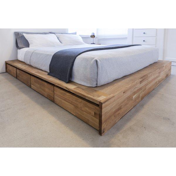 platform bed with storage mash studios lax series storage platform bed u0026 reviews | wayfair RTYRVFQ