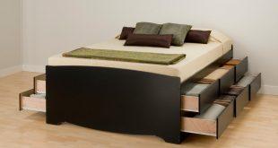 platform bed with storage prepac basic storage platform bed - beds at hayneedle TKACJVU
