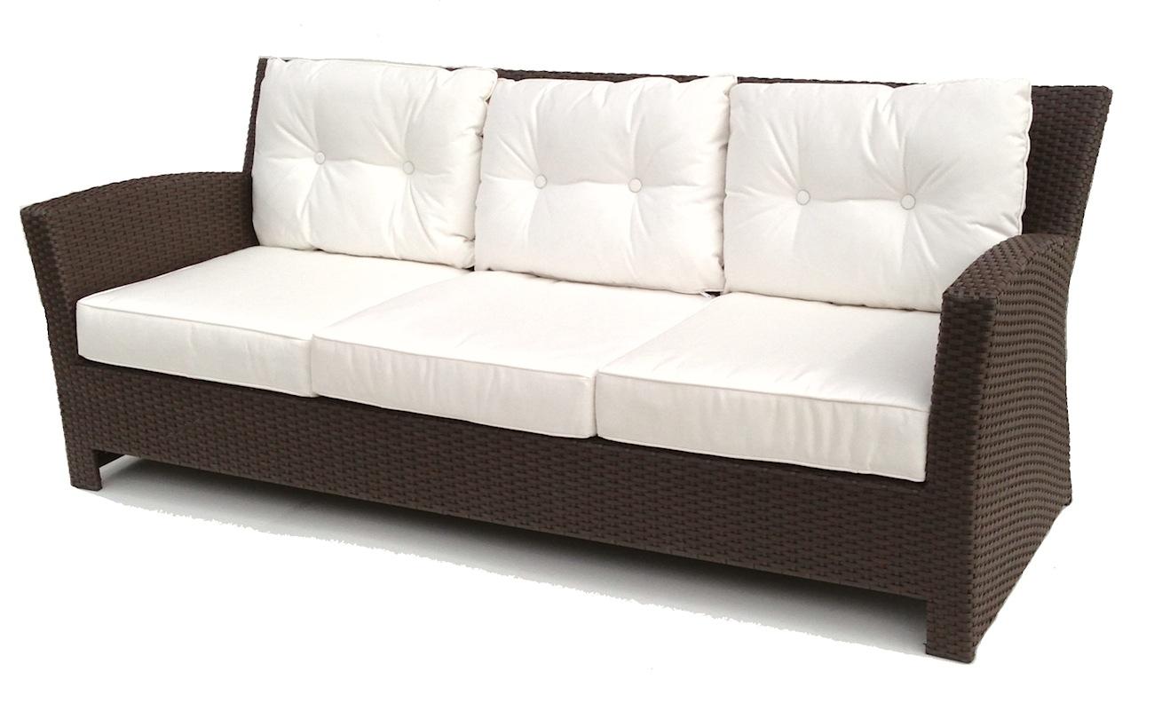 rattan sofa outdoor wicker sofa - sonoma ADZWRBJ