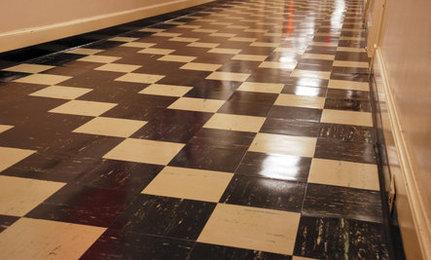 reconsidering linoleum flooring YTOJBUK