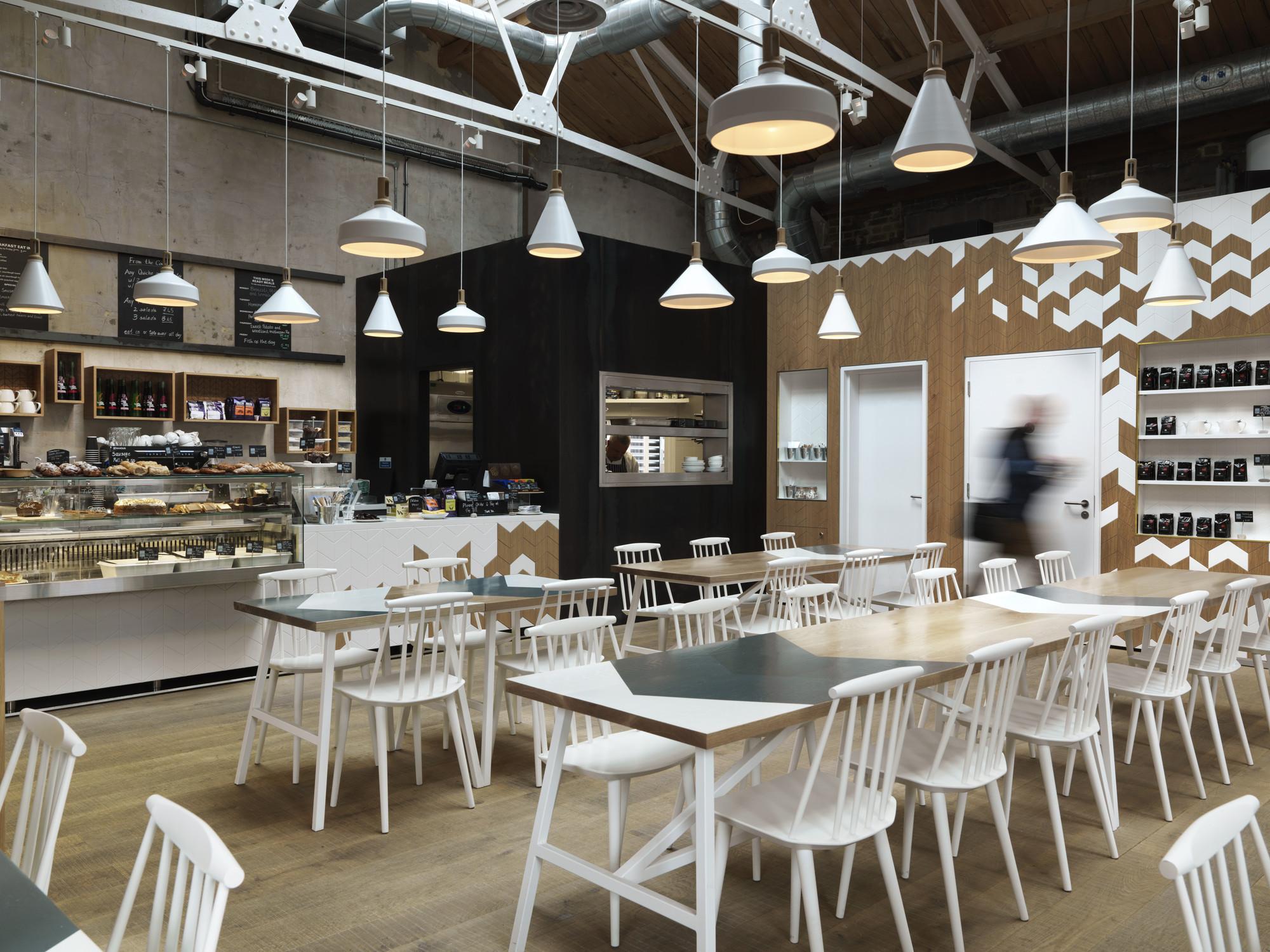 restaurant design fast/casual: cornerstone café (london) / paul crofts studio KTQAHPJ
